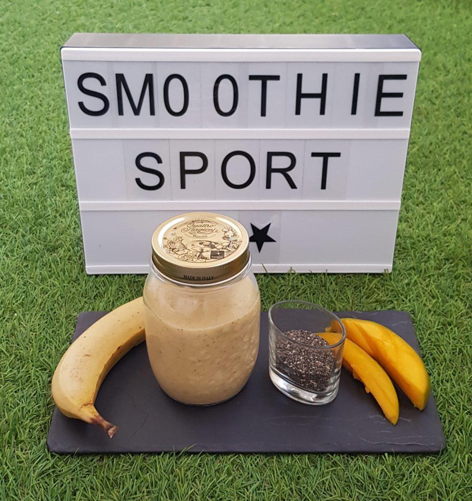 smoothie pour le sport